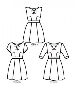Blueginerdoll Odette Line Drawings