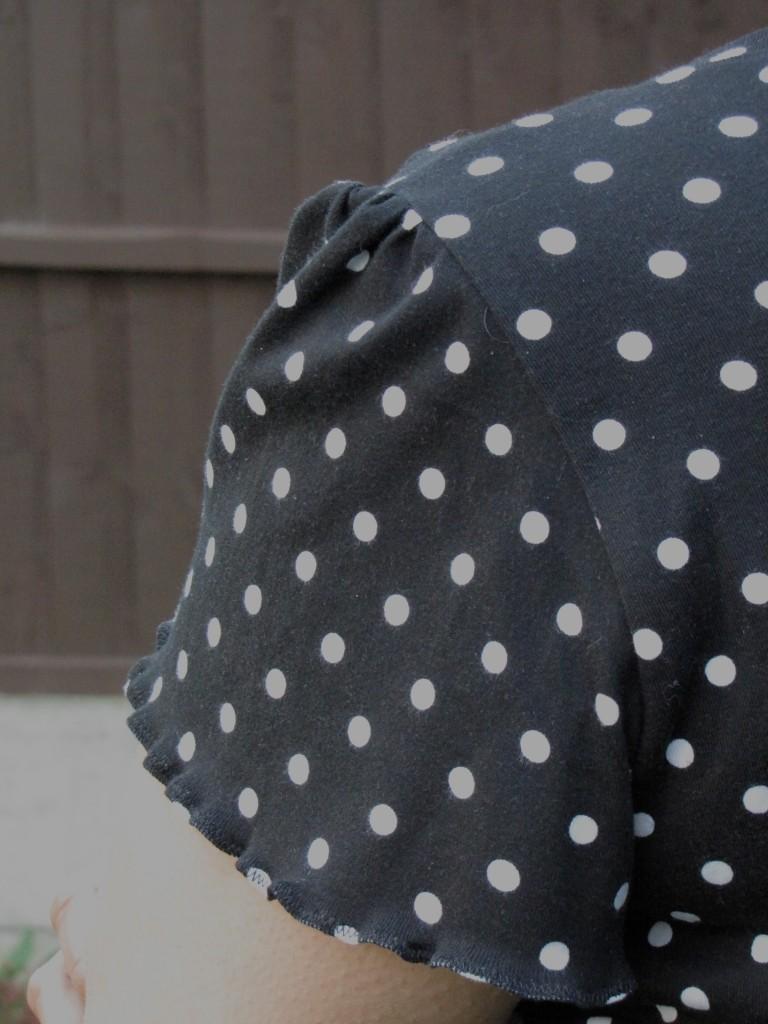 Bluegingerdoll Bonnie Sweater Flutter Sleeves