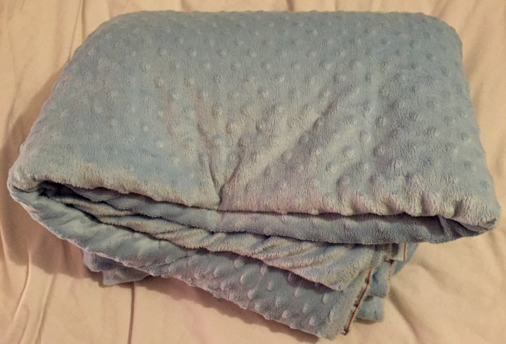 Pale blue cuddle fleece