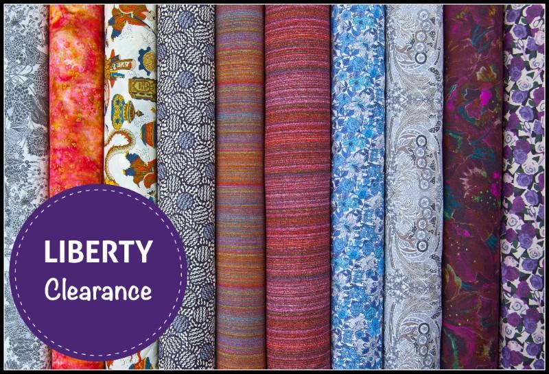 Abakhan Liberty Clearance Fabrics