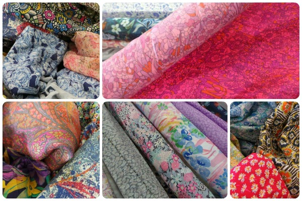 A selection Abakhan's Liberty clearance fabrics