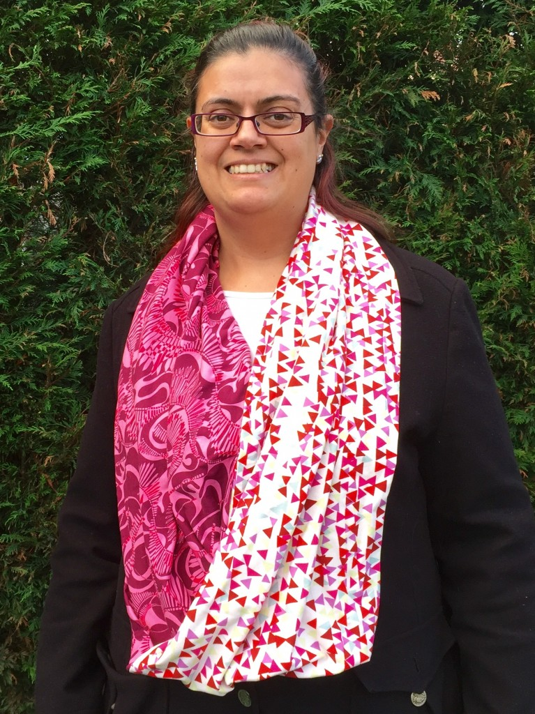 Open Liberty jersey infinity scarf