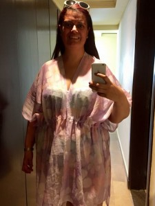 Handmade holiday beach coverup 13