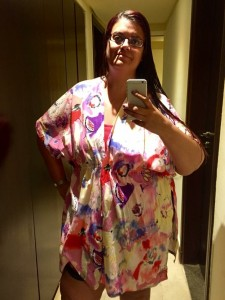 Handmade holiday beach coverup 2
