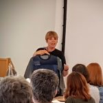 Portia's talk at the sewing weekender