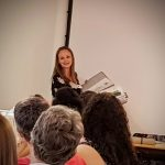 Fiona's talk at the sewing weekender