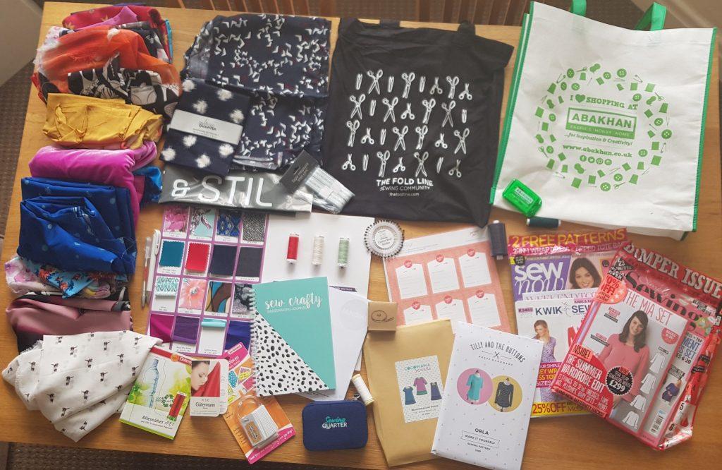Sewing Weekender Goody Bags