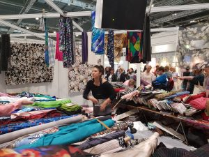 Stitch Fabrics at The Great British Sewing Bee Live