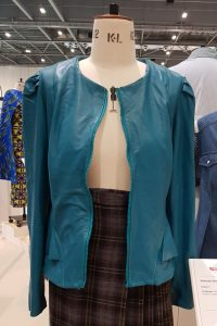 Deborah Simms Leather Jacket