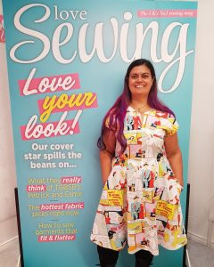 Home Sewing is Easy Cover Star